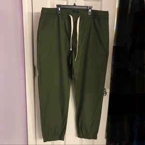 NWT J. Crew Factory Men's Chino Jogger Pants Sz XL